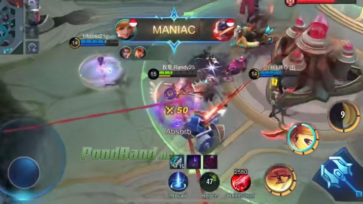 maniac Cara GB MMR Mobile Legends