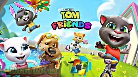 my talking tom friends mod apk