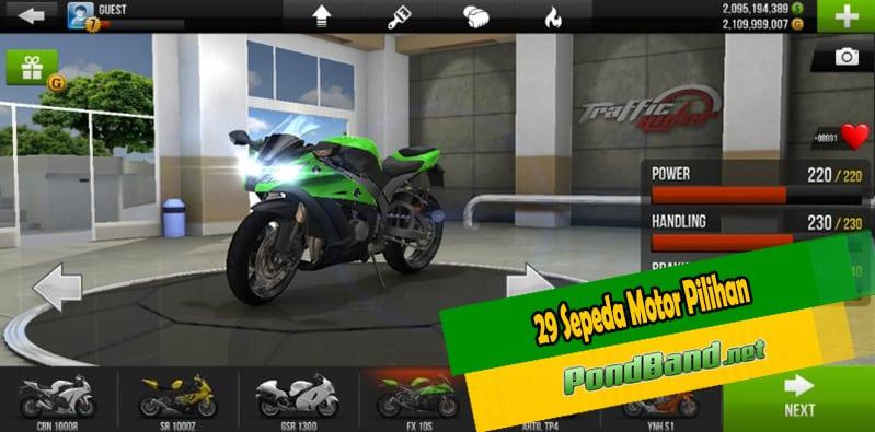 29 Sepeda Motor Pilihan