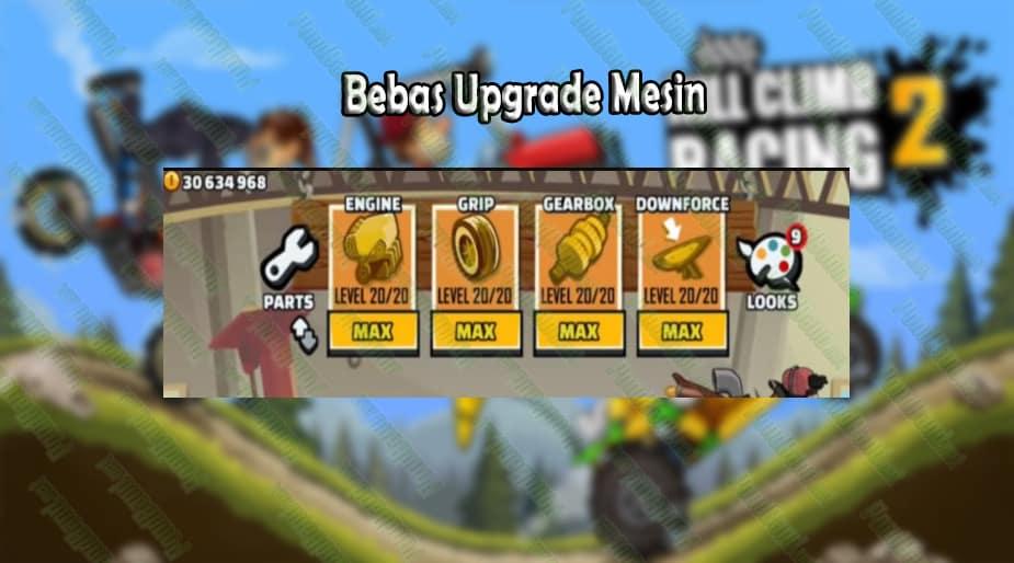 Bebas Upgrade Mesin