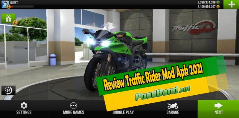 Review Traffic Rider Mod Apk 2021