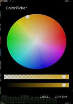 mengatur warna