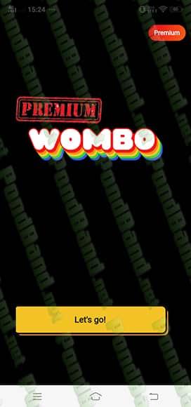 premium wombo ai