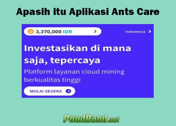 Apasih itu Aplikasi Ants Care