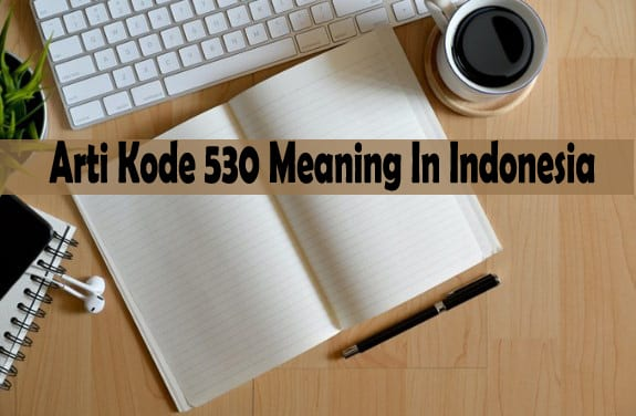 Arti Kode 530 Meaning In Indonesia