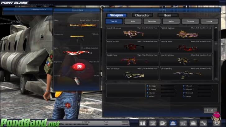 Tersedia Berbagai Macam Jenis Senjata