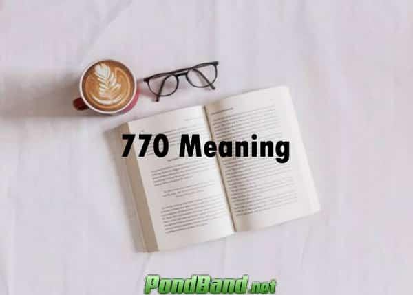 arti kode 770 meaning