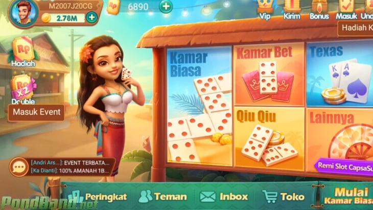 1. Mode Permainan