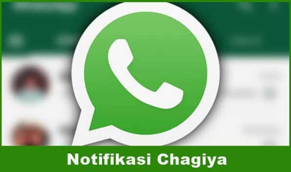 Download Notifikasi WA Chagiya Tiktok
